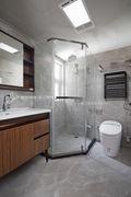 130平米三中式风格卫生间设计图