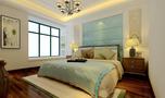 富裕型120平米四室一厅美式风格卧室图