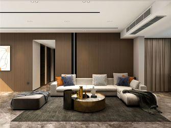 经济型110平米三室两厅现代简约风格客厅图