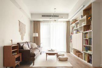 5-10万80平米三室一厅日式风格客厅装修效果图