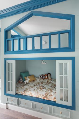 15-20万120平米四室一厅北欧风格青少年房装修效果图