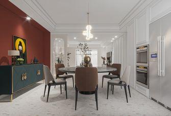 豪华型140平米四室一厅法式风格餐厅装修案例