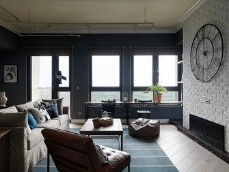 3万以下100平米三室一厅工业风风格客厅图