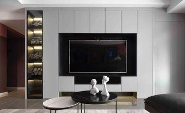10-15万90平米三室一厅新古典风格客厅装修图片大全