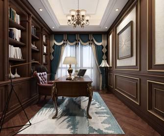 20万以上140平米三室两厅美式风格书房设计图