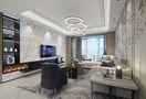 120平米三室一厅英伦风格客厅装修案例