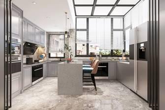 140平米美式风格厨房图片大全