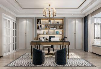 10-15万120平米三室两厅英伦风格书房装修效果图