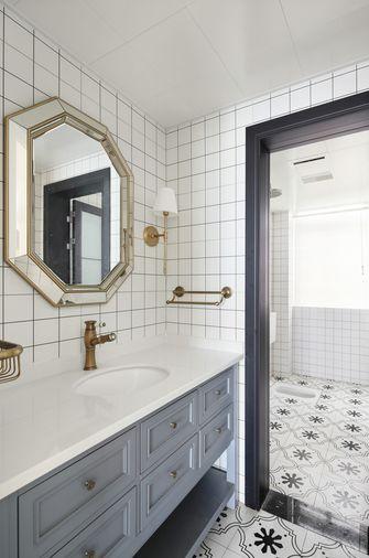 豪华型130平米三室两厅现代简约风格卫生间效果图