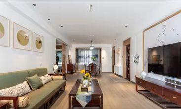 120平米三室两厅中式风格客厅装修案例
