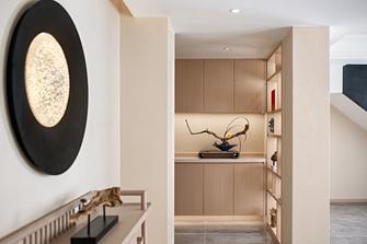 20万以上130平米四室两厅日式风格玄关图