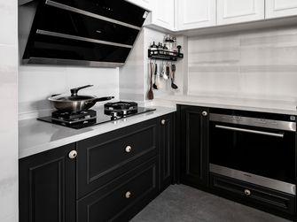 富裕型140平米三室一厅法式风格厨房图片