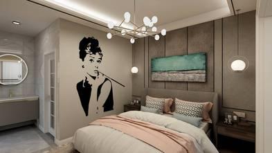 三室三厅轻奢风格卧室设计图
