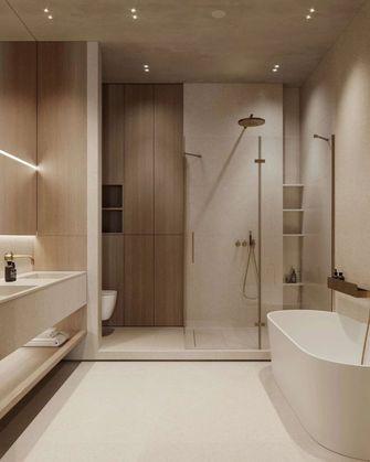 富裕型140平米三室一厅日式风格卫生间欣赏图