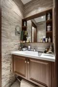 富裕型120平米三室一厅法式风格卫生间欣赏图