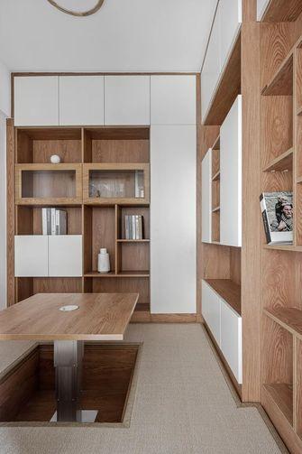 5-10万110平米三室两厅欧式风格书房设计图