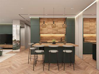 140平米四室两厅北欧风格餐厅图