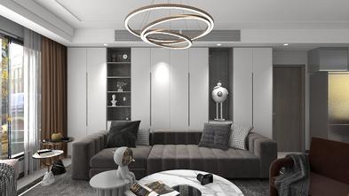 富裕型120平米三室两厅轻奢风格客厅效果图