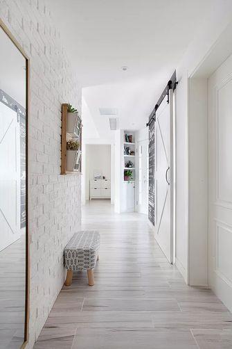 富裕型90平米三室两厅北欧风格走廊欣赏图