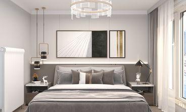 5-10万70平米一居室轻奢风格卧室装修效果图