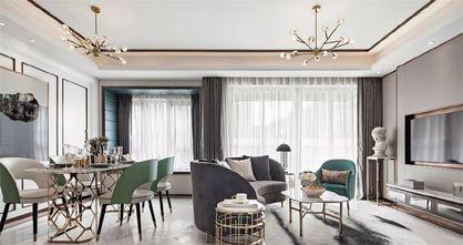 120平米三室两厅现代简约风格餐厅装修效果图