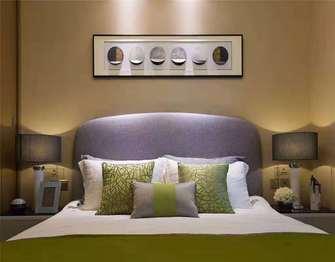 110平米三混搭风格卧室装修案例