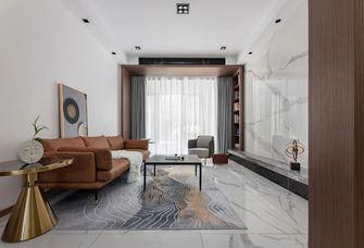 140平米三室两厅轻奢风格客厅图片