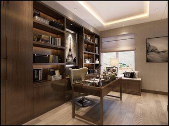 130平米三港式风格书房装修案例