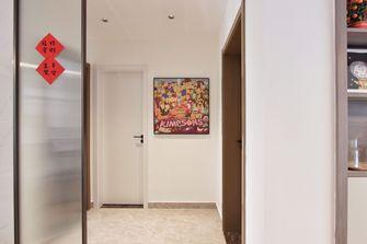 富裕型120平米三室两厅现代简约风格走廊装修图片大全