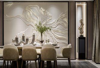 20万以上140平米别墅轻奢风格餐厅装修图片大全