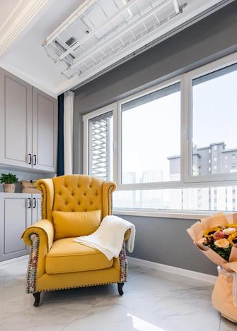 豪华型80平米北欧风格阳台装修效果图