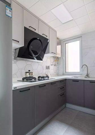 10-15万130平米三室两厅现代简约风格厨房图片