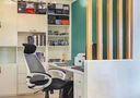 富裕型130平米三室两厅美式风格书房装修案例