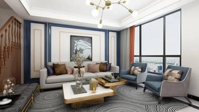 豪华型140平米四室两厅欧式风格客厅图