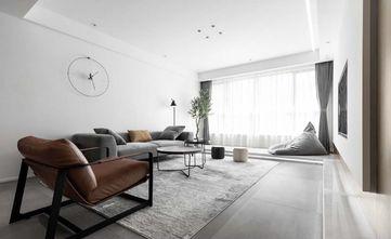 富裕型110平米三现代简约风格客厅图片大全