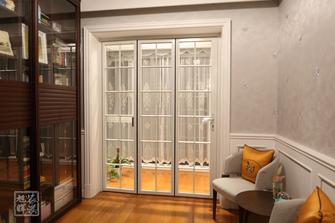 140平米三室两厅欧式风格书房装修案例