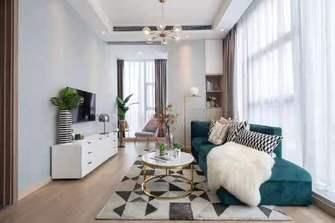 5-10万50平米公寓轻奢风格客厅欣赏图