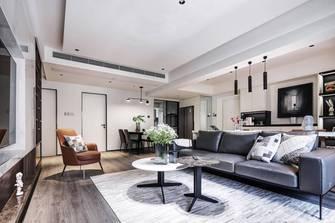110平米三室一厅现代简约风格客厅装修案例