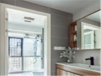 10-15万90平米三室两厅北欧风格卫生间图