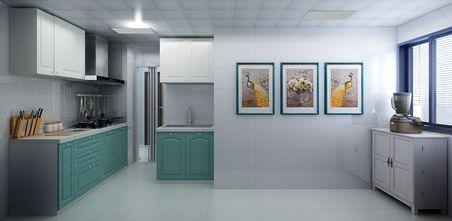 20万以上欧式风格厨房装修图片大全