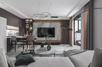 120平米四现代简约风格客厅图片