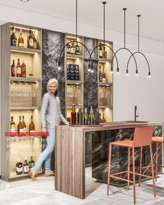 豪华型140平米别墅现代简约风格餐厅欣赏图