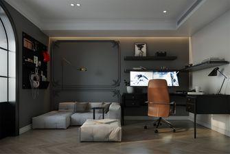 20万以上80平米三室一厅法式风格影音室装修图片大全