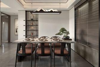 豪华型100平米三室两厅中式风格餐厅装修效果图