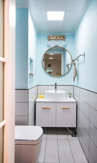 经济型30平米以下超小户型北欧风格卫生间装修案例
