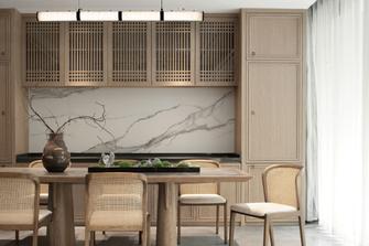 120平米三室两厅东南亚风格餐厅装修案例