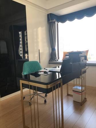 130平米三现代简约风格书房图片