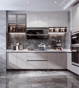 15-20万120平米三室两厅现代简约风格厨房装修案例