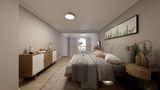 30平米小户型北欧风格卧室欣赏图
