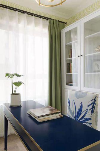 5-10万100平米三室两厅美式风格书房欣赏图